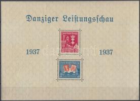 1937 Mi blokk 3 (kis sarokhiba / folded corner)