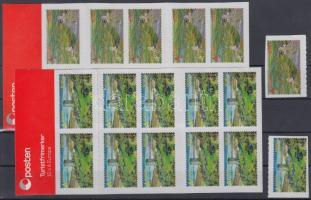 2012 Europa CEPT Látogasson Norvégiába öntapadós sor + 2 bélyegfüzet Mi 1783-1784