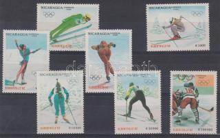1990 Téli olimpia, Albertville sor Mi 3008-3014