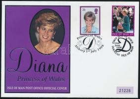 1998 Diana hercegnő emlékboríték