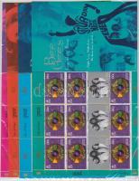 1999 Bee Gees együttes kisívsor Mi 835-840