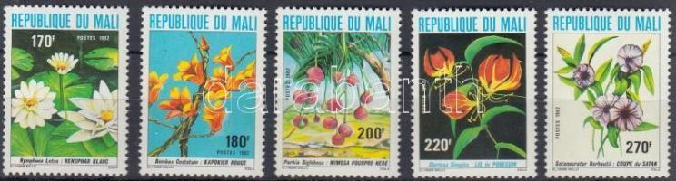1982 Virágok sor Mi 894-898