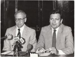 cca 1980 José Manuel Barroso sajtófotó 23x19 cm