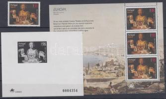 1996 Europa CEPT: Híres asszonyok Mi 182 + blokk Mi 15 + de luxe blokk