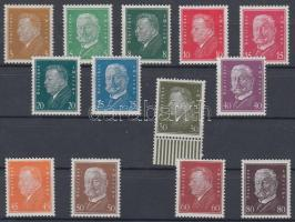 1928 Forgalmi sor / Definitive set Mi 410-422