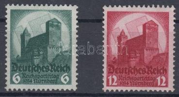 1934 Nürnbergi pártnap sor Mi 546-547
