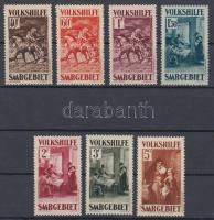 1931 Festmények sor Mi 151-157