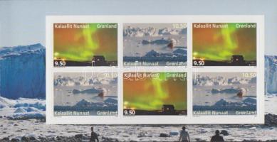 2012 Europa CEPT Látogasson Grönlandra öntapadós bélyegfüzet Mi 615-616