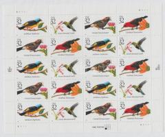 1998 Trópusi madarak kisív Mi 2991-2994