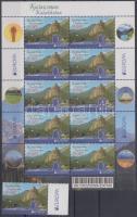 Europe CEPT Visit to Kazahstan + mini-sheet, Europa CEPT Látogasson Kazahsztánba + kisív