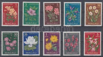 1953 Virágok sor Mi 394-403