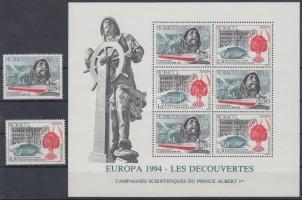 1994 Europa CEPT: Felfedezések és találmányok sor Mi 2178-2179 + blokk 63