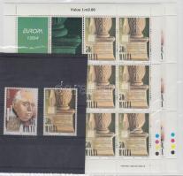1994 Europa CEPT: Felfedezések és találmányok sor + kisív sor Mi 926-927