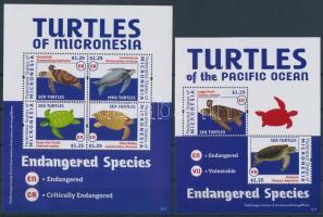 2012 Teknősök kisív + blokk
