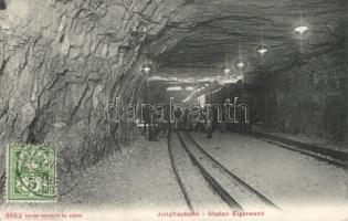 Jungfraubahn, Eigerwand station