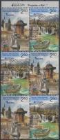 2012 Europa CEPT Látogasson Boszniába bélyegfüzetlap Mi 589-590 DE