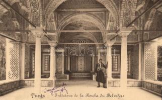 Tunis, Kouba du Belvedére, interior