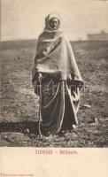 Bedouin man form Tunisia, folklore, Beduin folklór Tunéziából