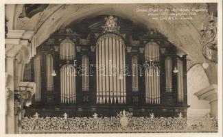 Engelberg, organ in the churcrior