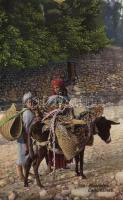 Arabian folklore, nomads, Arab folklór, nomádok