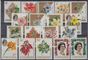 1967 Forgalmi: Virágok sor Mi 152-169