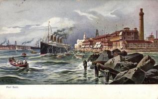 Port Said s: F. Perlberg