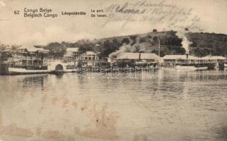 Kinshasa (Léopoldville), port (EK)