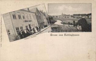Kellinghusen, Näther's Gasthof / restaurant of Nather
