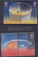 1991 Europa CEPT: Európai űrkutatás sor 2 párban Mi 1337-1340