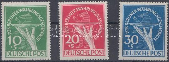 1949 Segély a rászorulóknak sor Mi 68-70