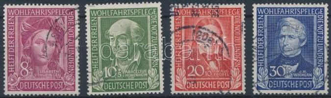 1949 Jótékonyság sor Mi 117-120