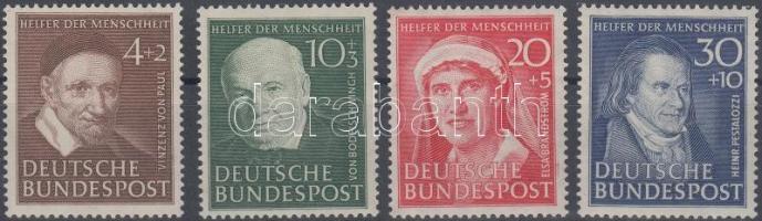 1951 Jótékonyság sor Mi 143-146