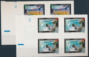 2012 Europa CEPT Látogatás öntapadós négyestömb sor Mi 3536-3537