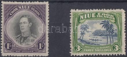 1940/1946 Forgalmi bélyegek Mi 68 + 70
