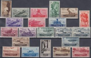 1934 Katonai érdemrendek sor Mi 494-513