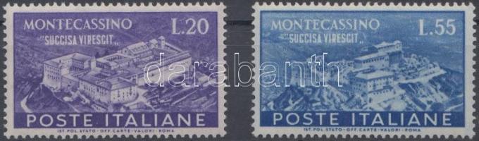 1951 Monte Cassino sor Mi 837-838