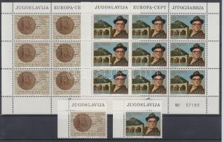 1983 Európa sor + kisívsor Mi 1984-1985