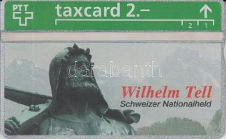 1993 Svájc használatlan Tell Vilmos telefonkártya