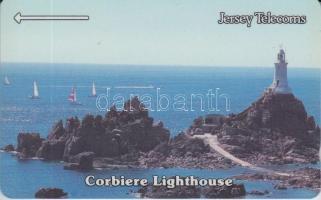 1993 Jersey Corbiere világítótorony használatlan telefonkártya