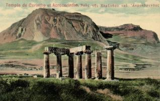 Acrocorinth Temple of Apollo