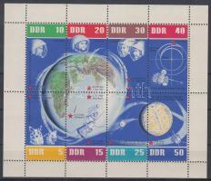 1962 5 éves a szovjet űrutazás kisív Mi 926-933