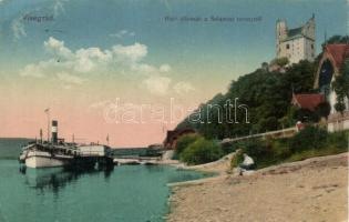 Visegrád, hajóállomás, Salamon torony