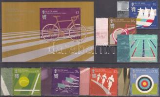 2012 Olimpia London ívszéli sor Mi 1743-1749 + blokk Mi 82
