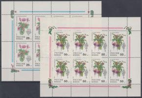 1993 Szobanövények kisívpár Mi 298-299