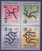 2008 Nyári olimpia, Peking négyestömb Mi 711-714