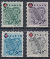 Baden 1949 Mi 42-45