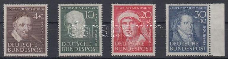 1951 Jótékonyság Mi 143-146