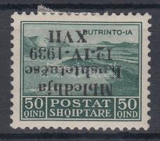 1939 Mi 290 fordított felülnyomás