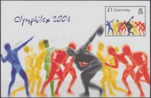 2004 Athéni nyári olimpia blokk Mi 38