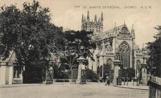 Sydney, St. Marys cathedral